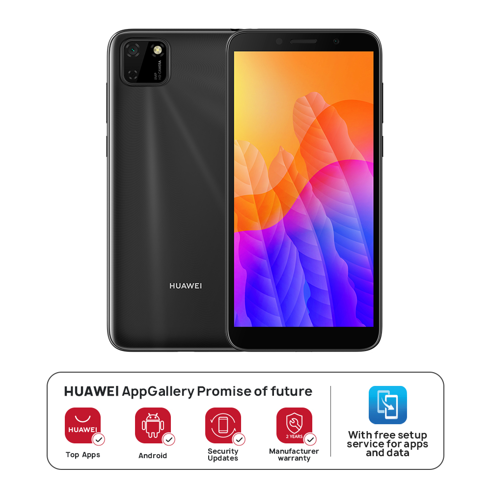 "HUAWEI Y5P - 5.45"" Display - 32 GB ROM / 2GB RAM - 8MP Rear+5MP Front Camera"