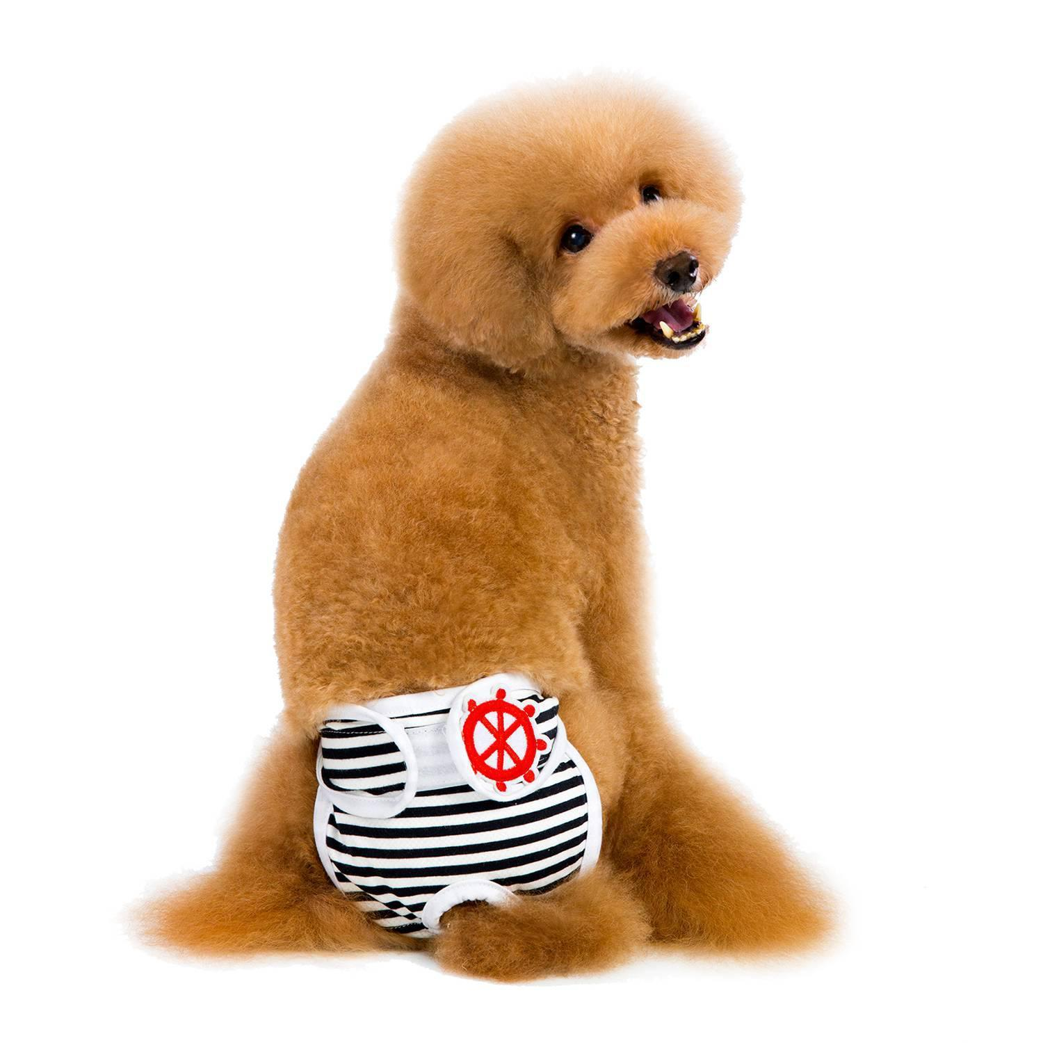 Goglor Pawaca Reusable Washable Dog Diapers of Durable Doggie Diapers,Comfy  And Stylish Dog Wraps,Luxury Reusable Dog Diapers, for Both Male and