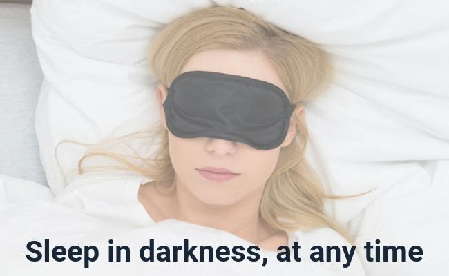 Sleep Mask  [GOOD NIGHT DEAL] Padded Shade Cover Relax Blindfolds Eye Cover Sleeping Mask Eye Care Beauty Tools