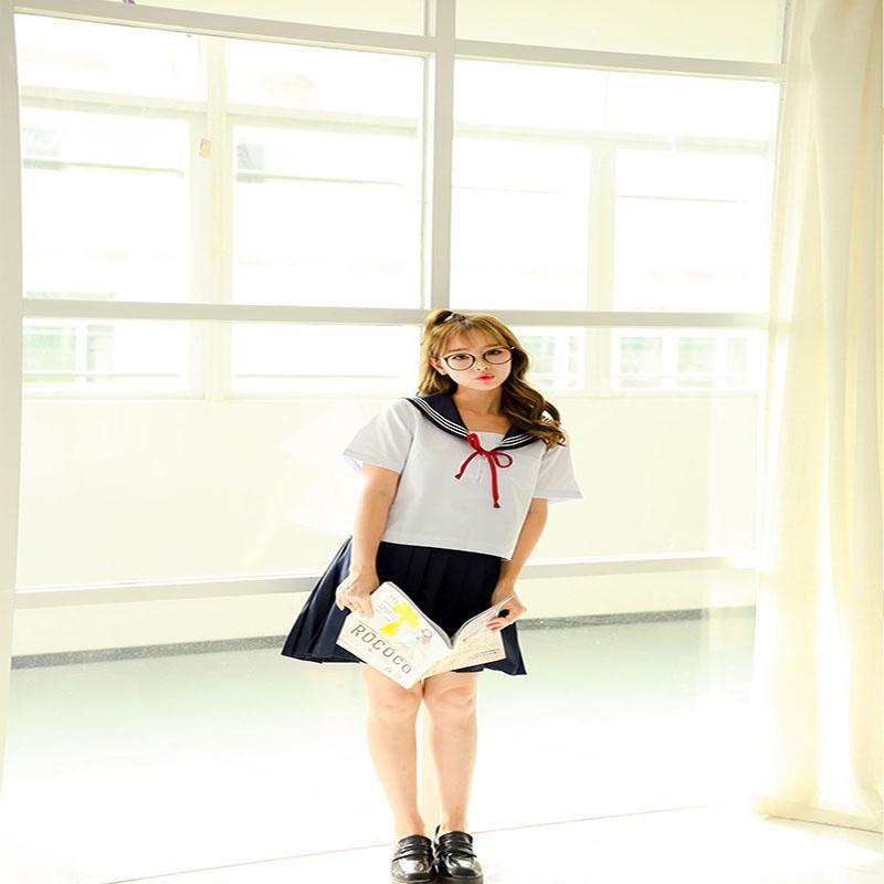 Cosplay Japanese School Girl Students Sailor Uniform Anime Women/'s Fancy Costume