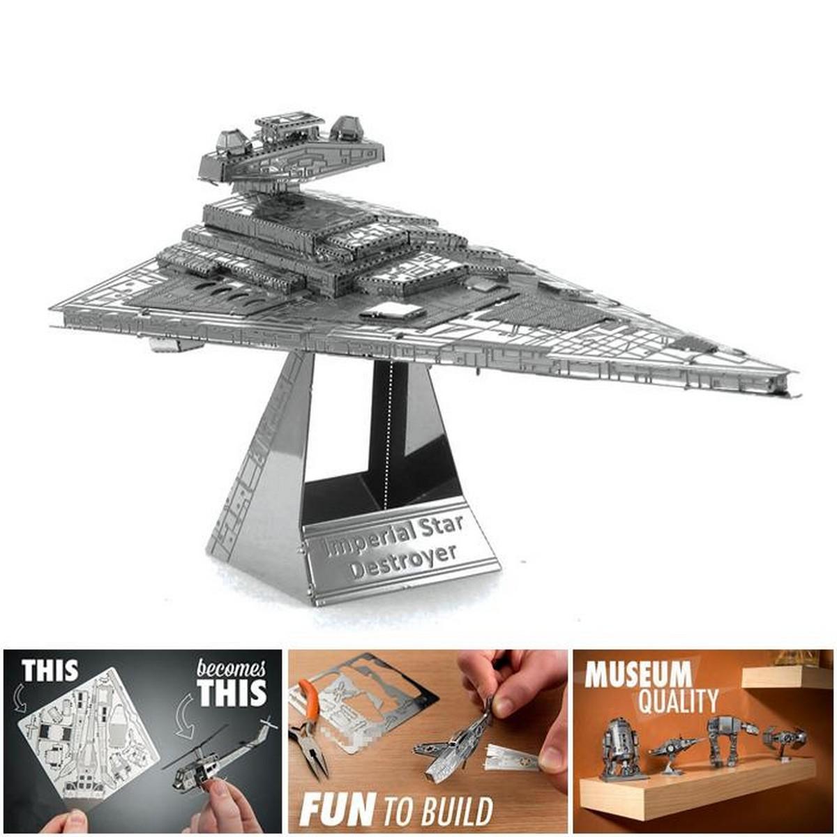 Star Wars - Imperial Star Destroyer Metal Model - Unassembled