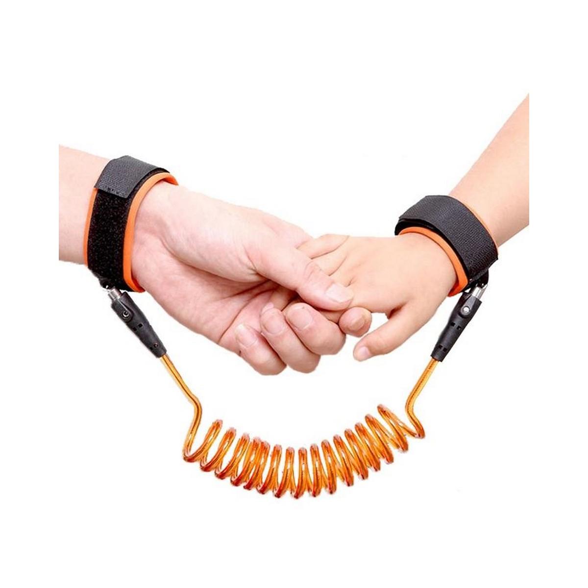 Stretch baby boys girl walker Leash Adjustable Kids Safety Anti-lost Wrist Link Toddler Wrist Band Leash Belt