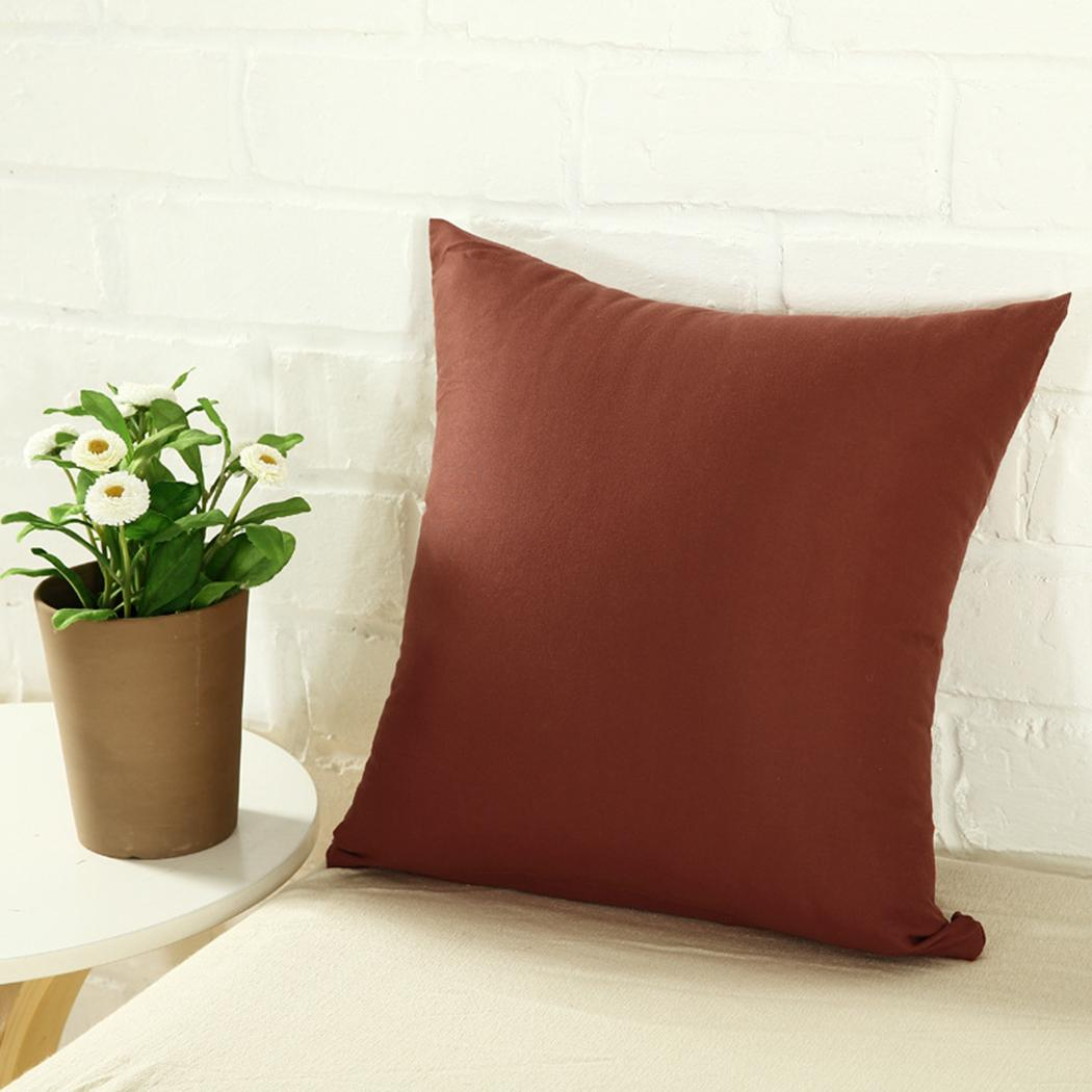 Valerie Decor Exclusive Color Cushion Cover With invisible zip - 14x14