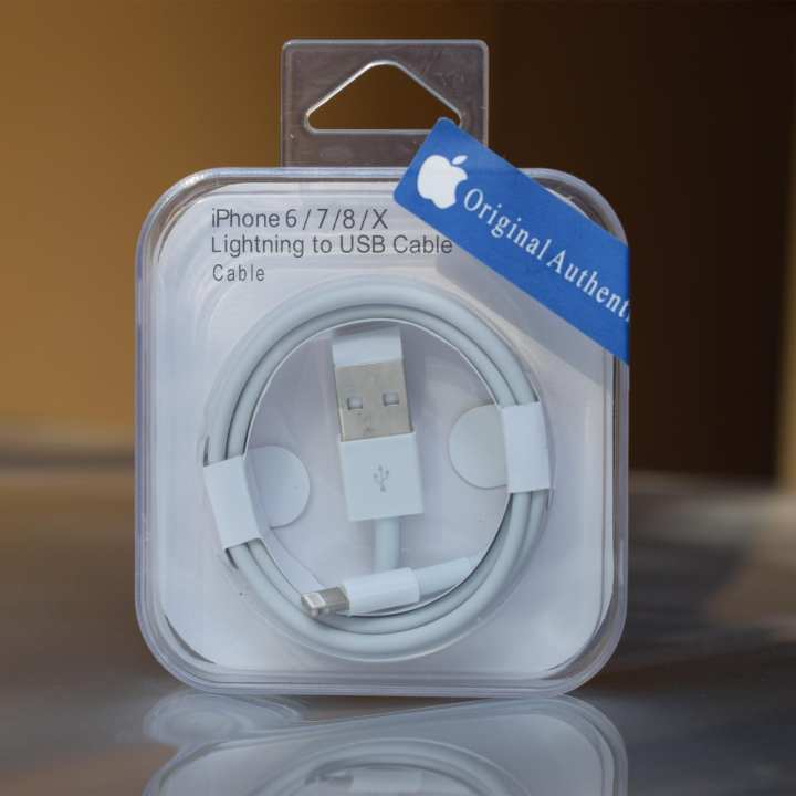 Lightning To USB Data Cable For Iphone 5 6 7 8 X - Original - Copper Wire - Fast Charging