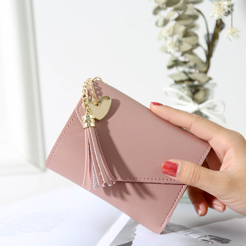 New small mini Wallet for women and girls card Holder coin purse ladies slim wallet with heih Quality Female purse