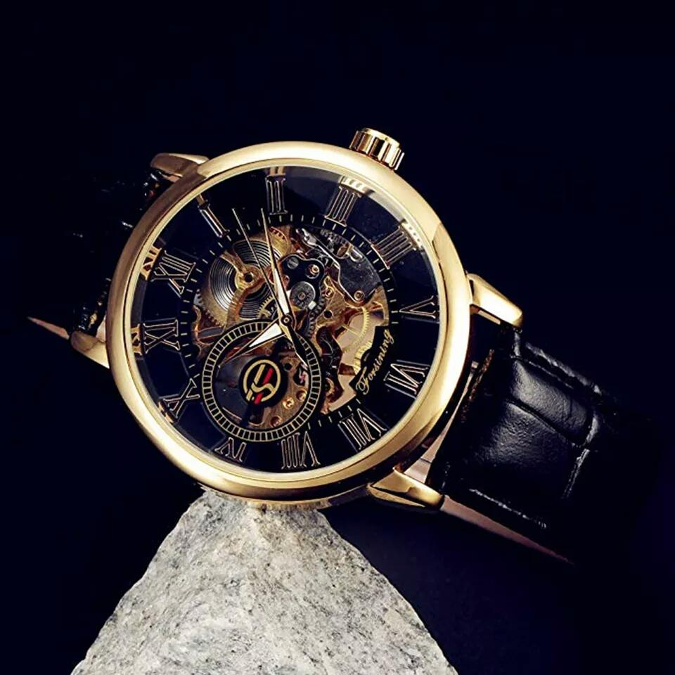 31ee025fa40 Original Forsining Mechanical Automatic Watch for men-GOLD Edition