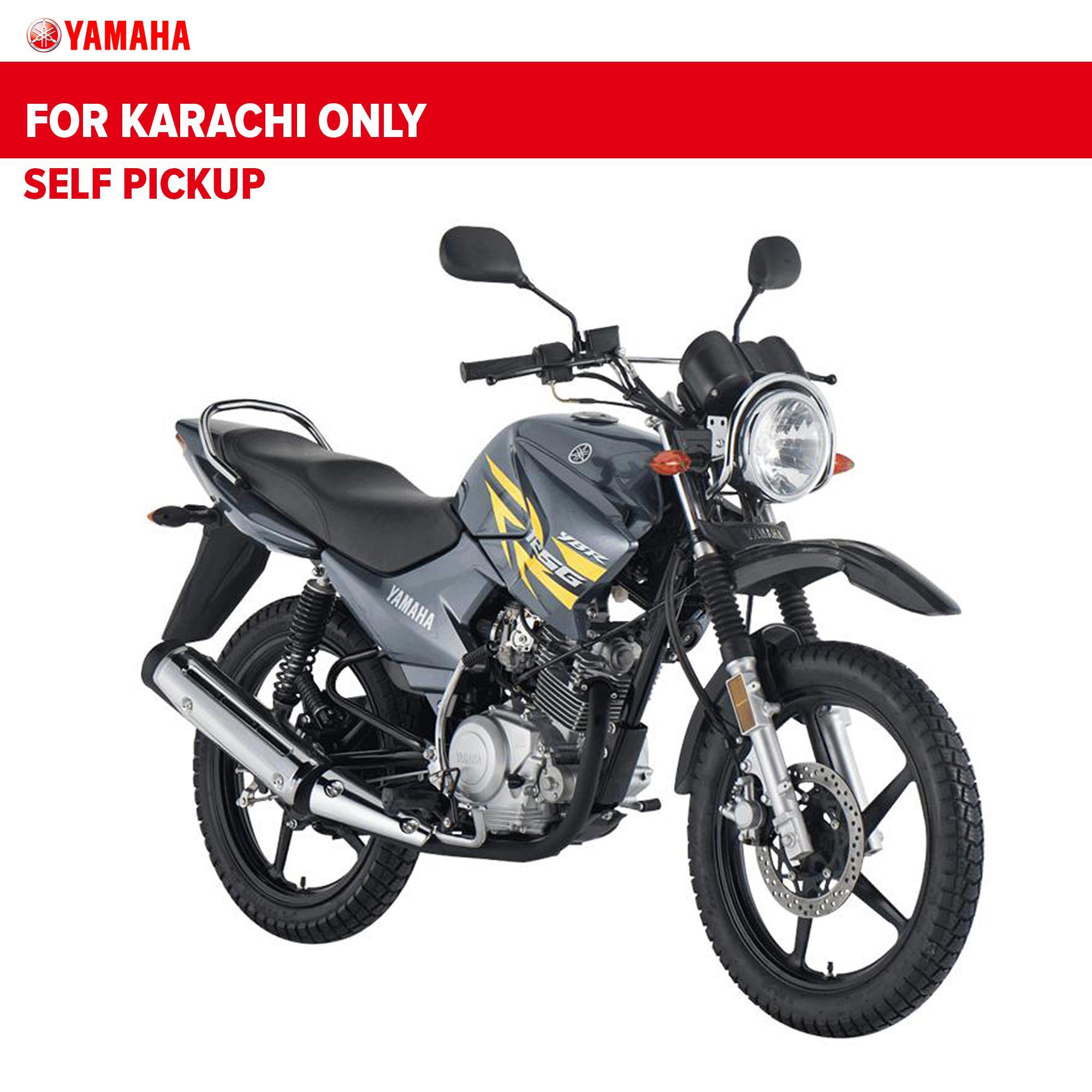 Yamaha Ybr 125 G Night Fluo Grey 2019 Only For Karachi