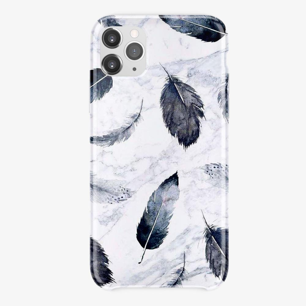 Feather Design, Printed TPU Mobile Cover Case, All Models are Available,