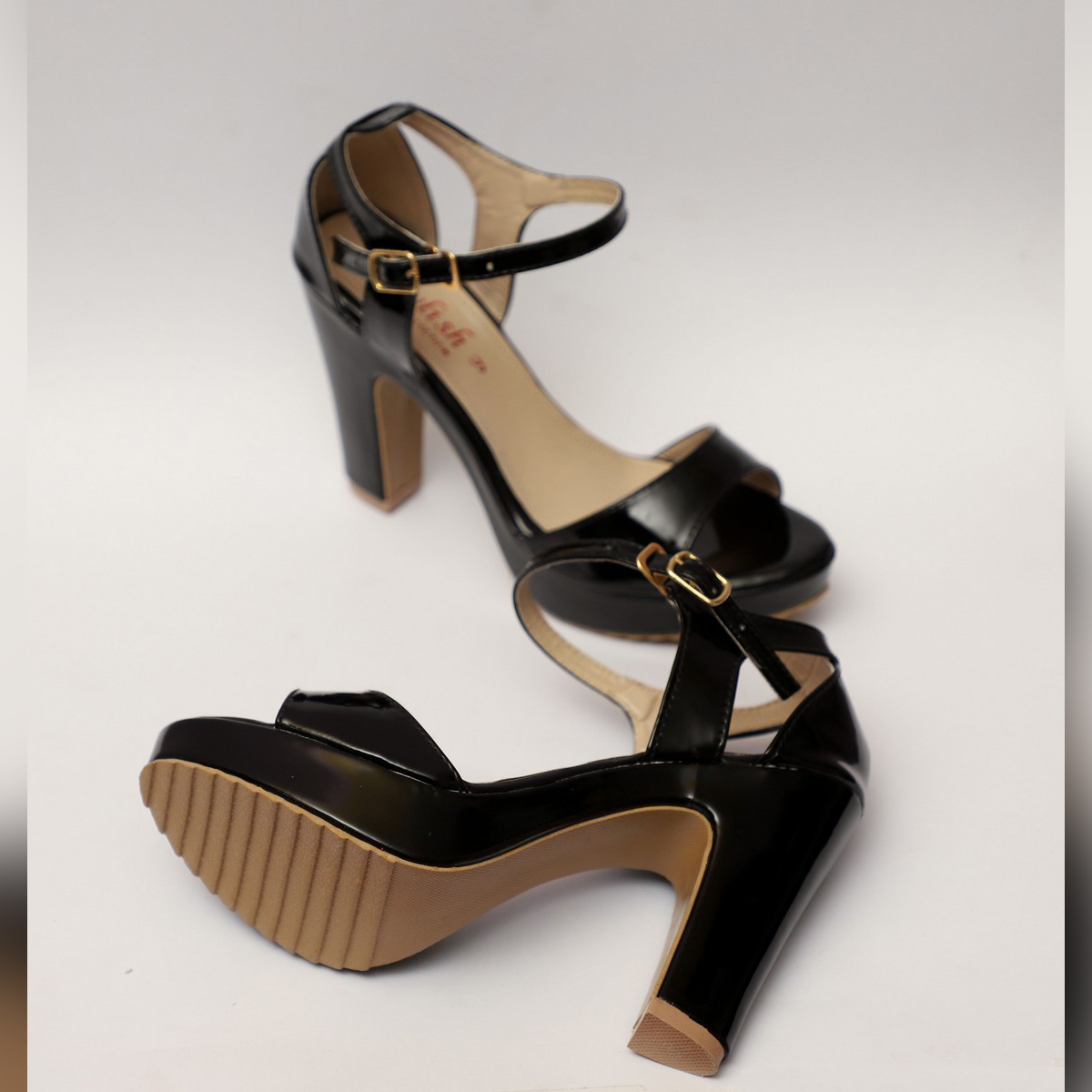 High Heel Sandal For Women Block Heel Party Wear Long Heel