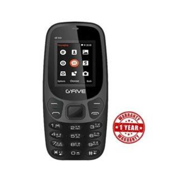 Gfive G 3310 Dual Sim 1.7 Inch Display 800 mAh FM Radio - Bluetooth - Any Colour