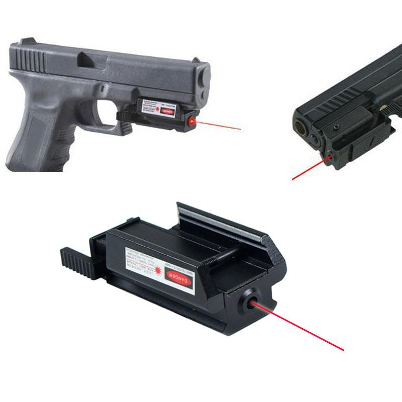 Tactical Red Laser Sight Square For Pistols