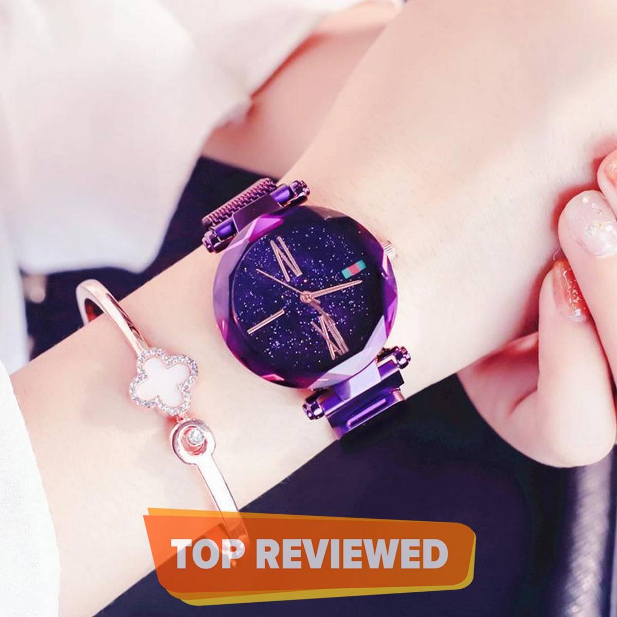 Magnet Chain Watch For Girls Best Wristwatch Gift