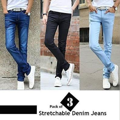 834c5ccc9a Pack Of 3 Stylish Men s Jeans Pant