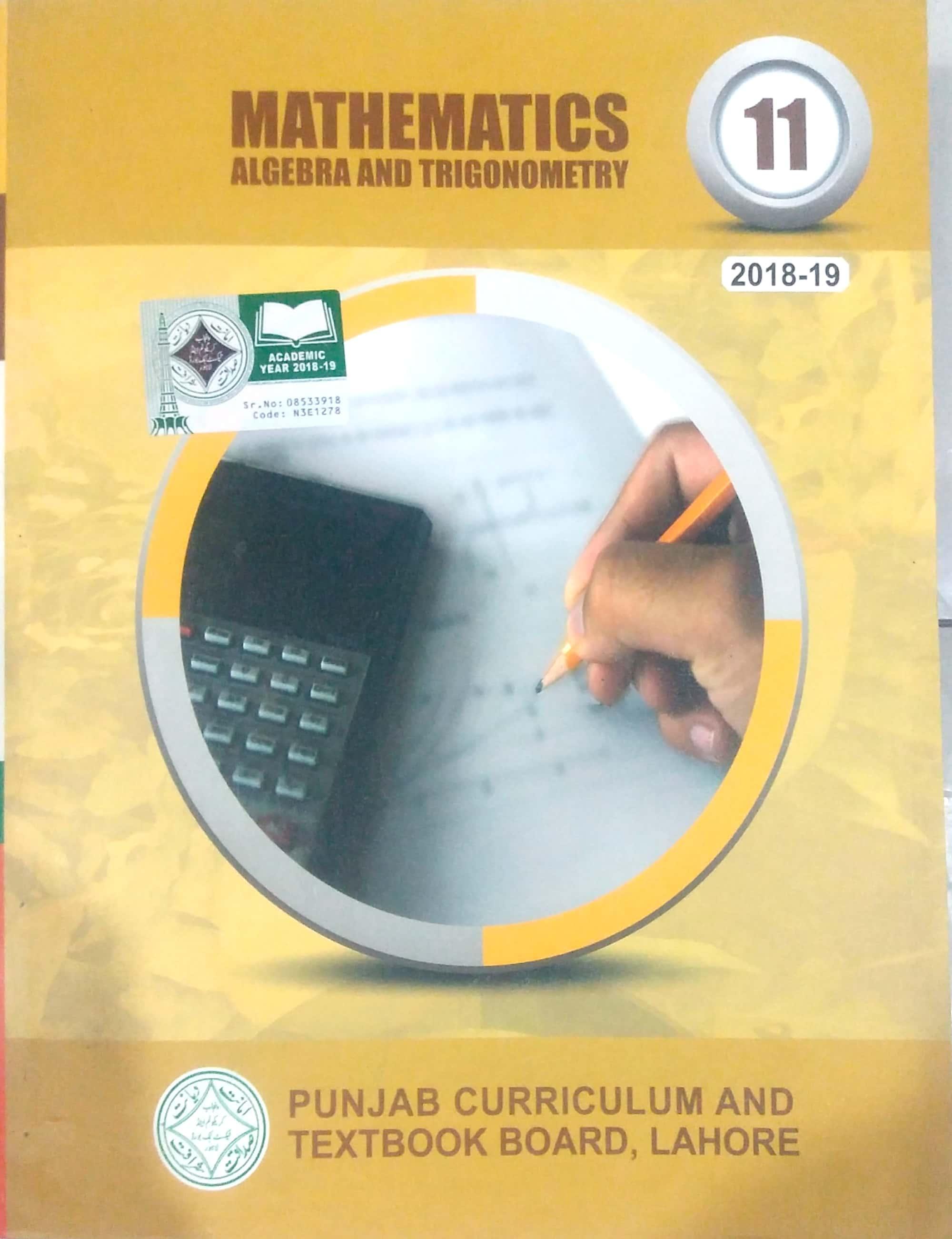 Mathematics Class 11 ( PTB )