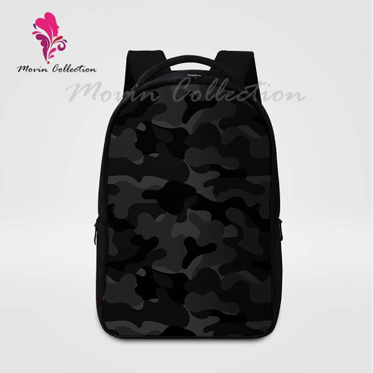 Camouflage Printed Backpack For Men