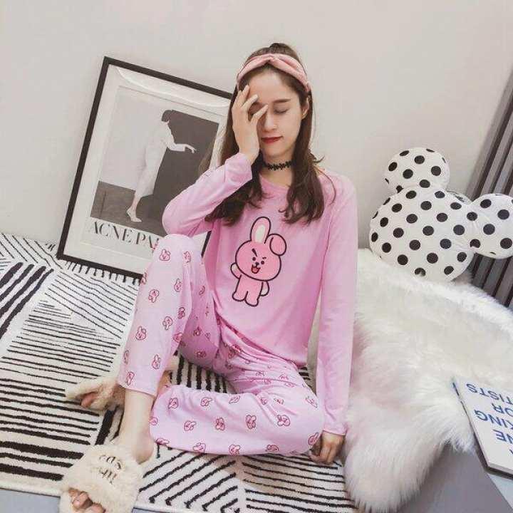 Multicolour Cotton Nightsuit For Women