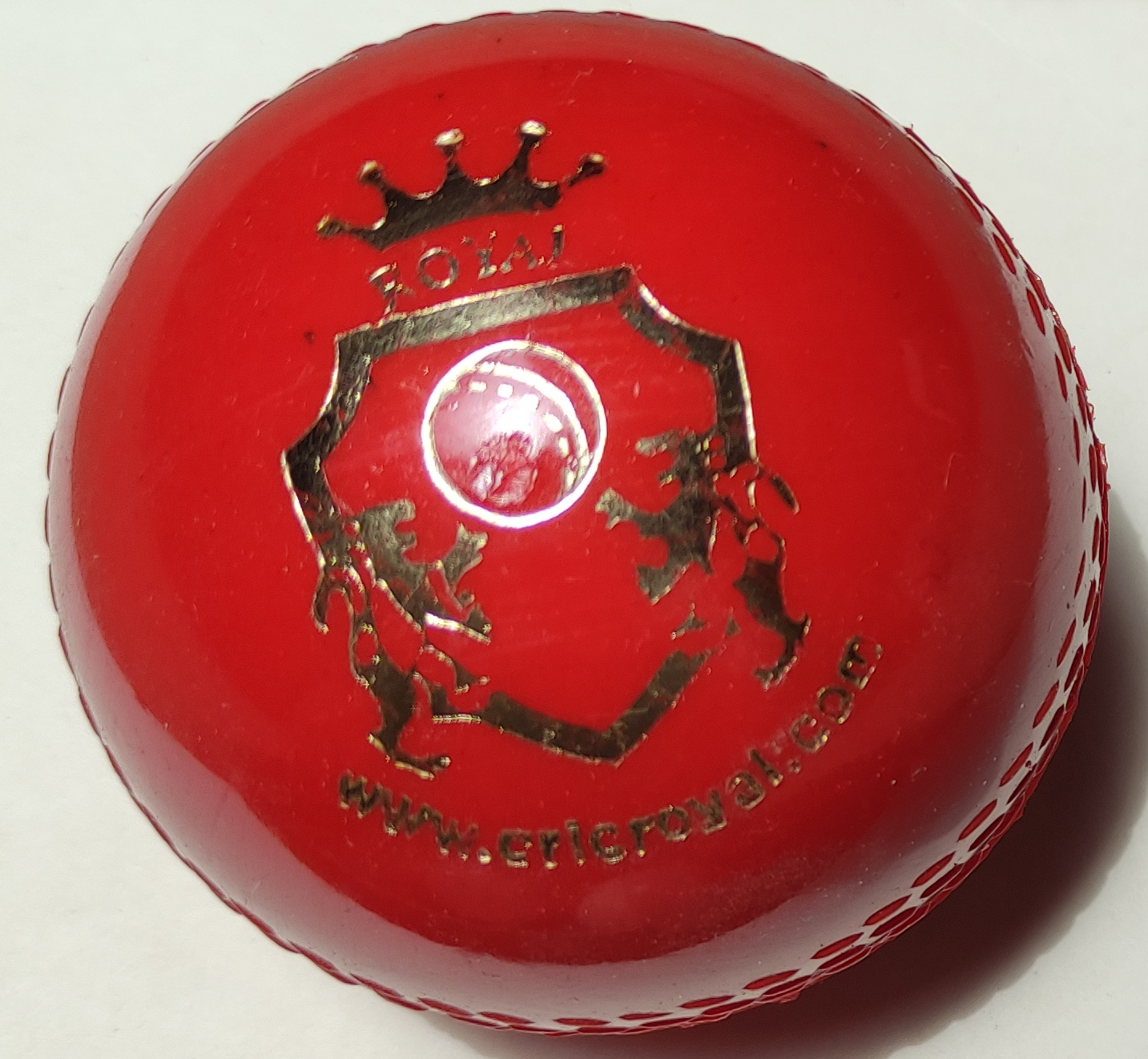 Practice Cricket Hard Ball (Synthetic) White