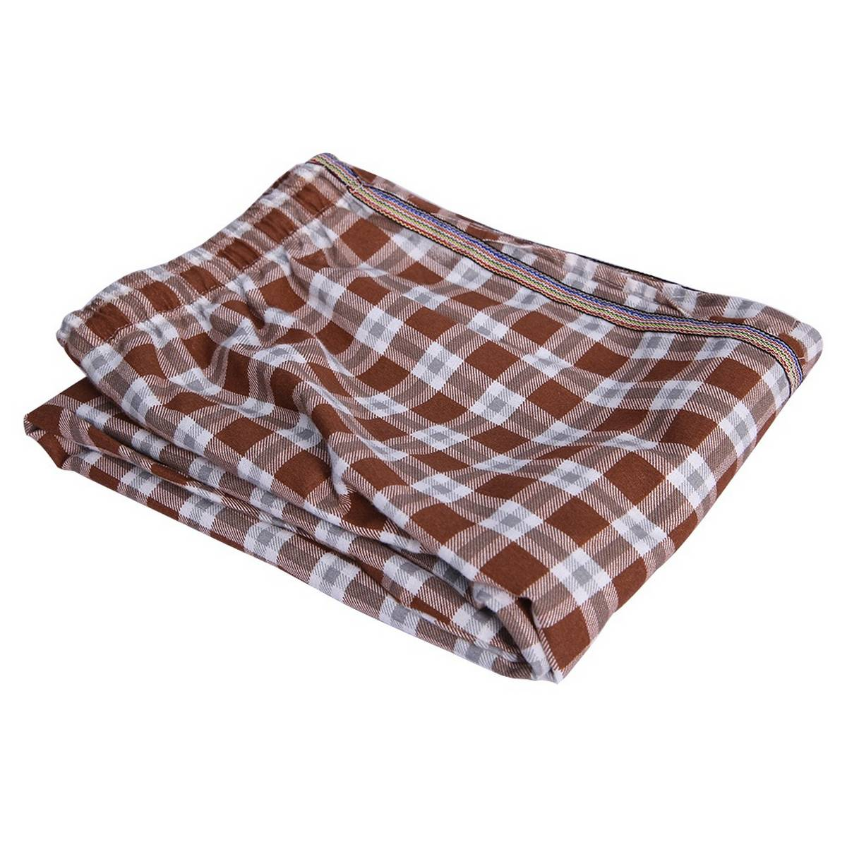 Check Trouser Brown Checks Design Imported Trousers Pajama For Men's