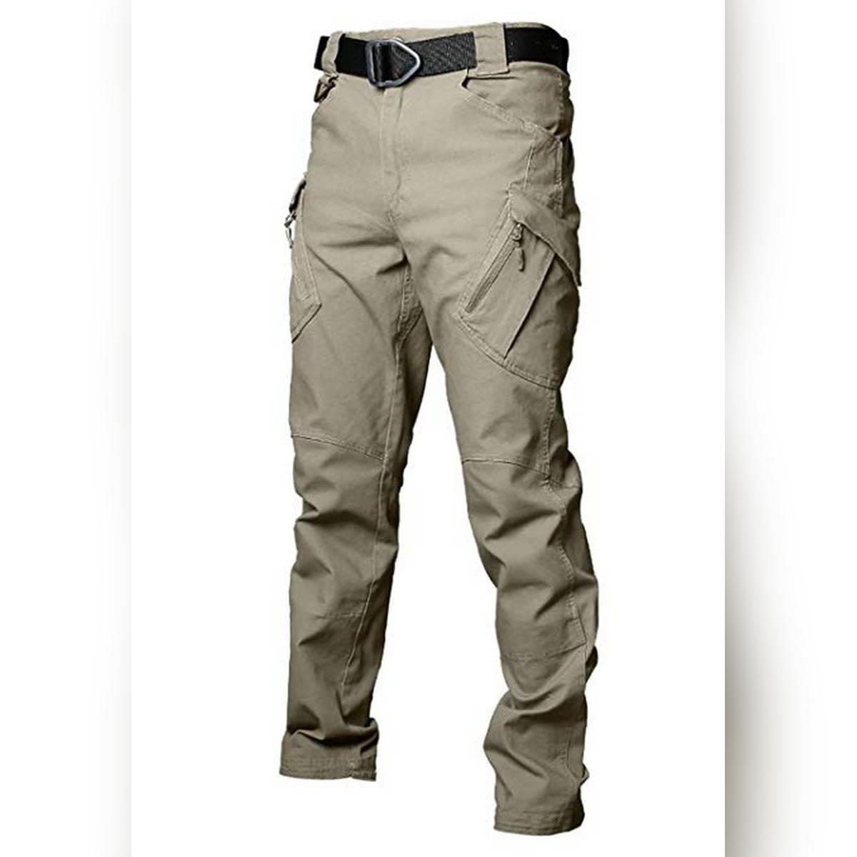 Men's Cargo Trouser Khaki -T004