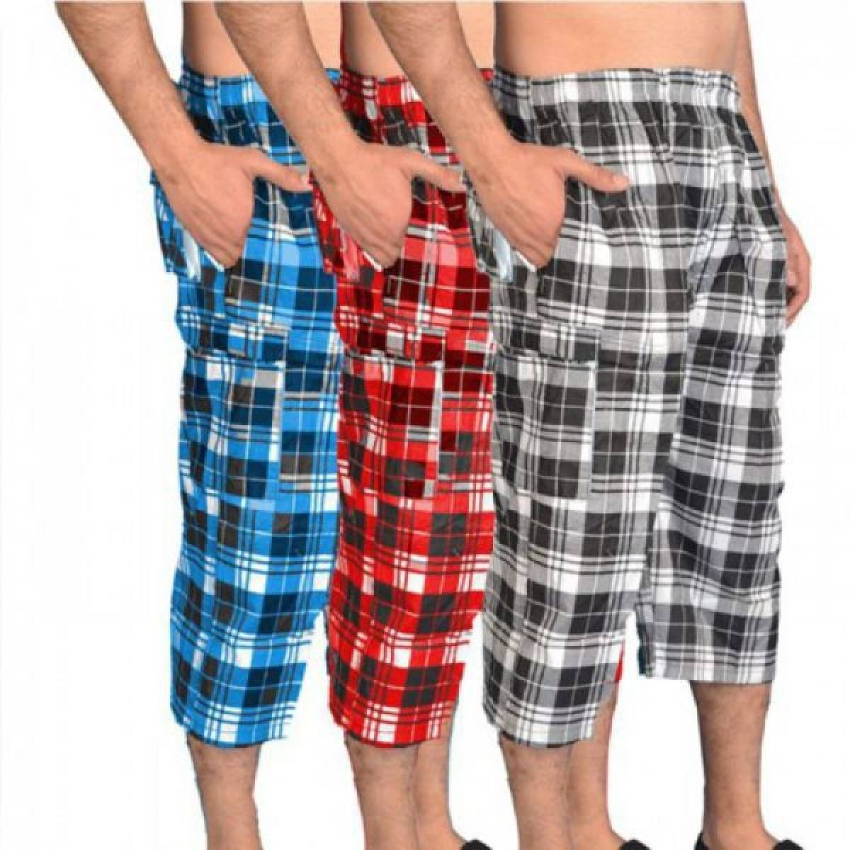Pack of 3 Casual Summer Imported Long Shorts / Sports Shorts for Men