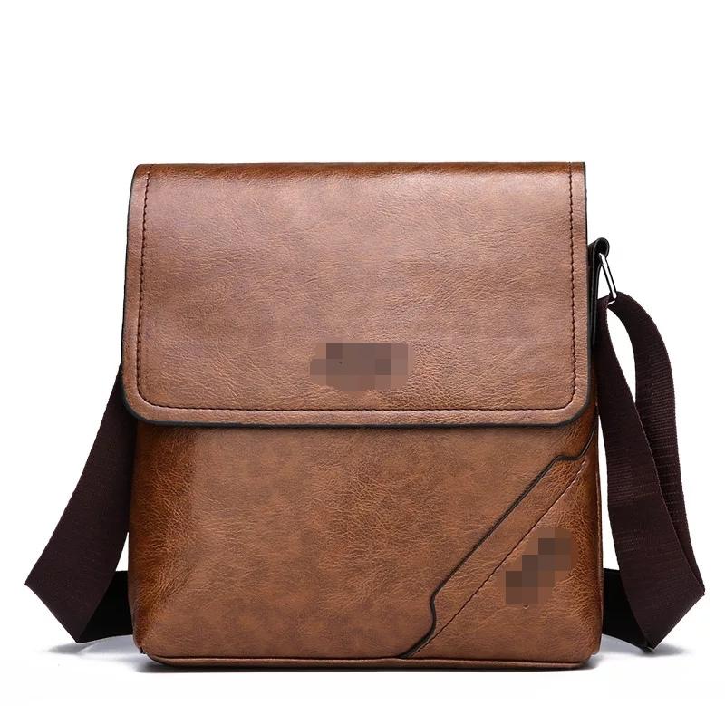 Men's Handbag Shoulder Bag Vintage Trends PU Leather Crossbody  Bag