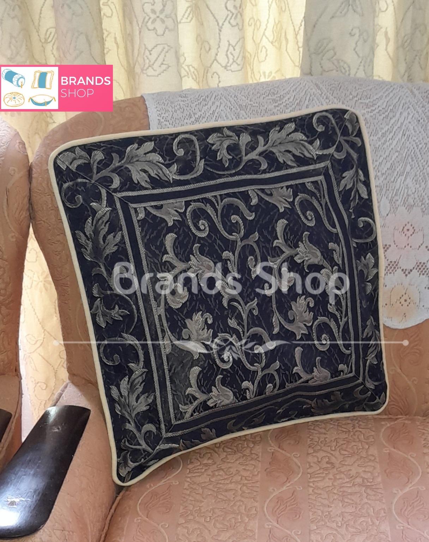 Designer Purple Pattern Cushion Cover