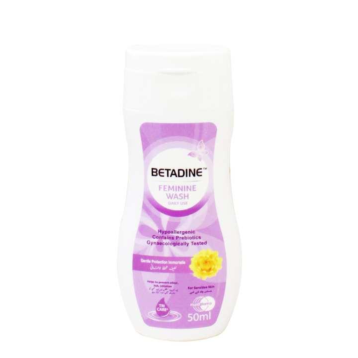 Betadine Feminine Wash 50ml