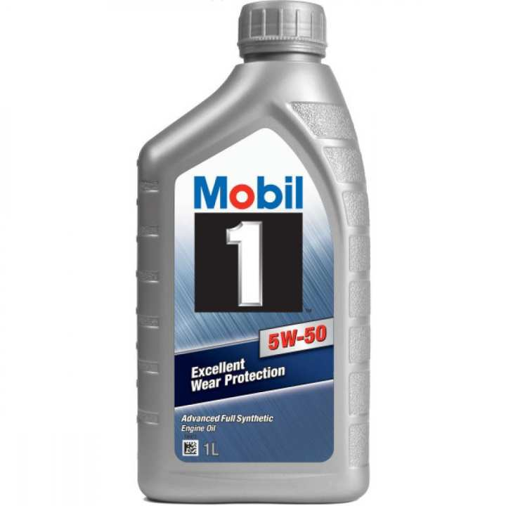 Mobil 1 5W-50 Advanced Full Synthetic Motor Oil By ExxonMobil Singapore 1 LTR