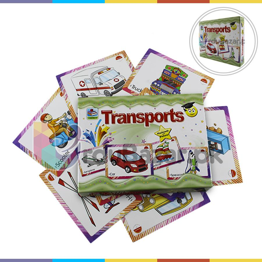 Transports Flashcards Learning for Kids