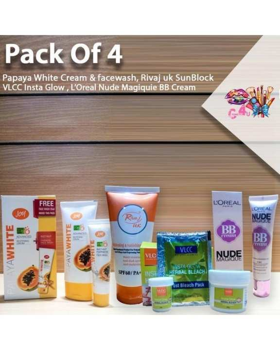 Pack of four Cosmetics Product for Her
