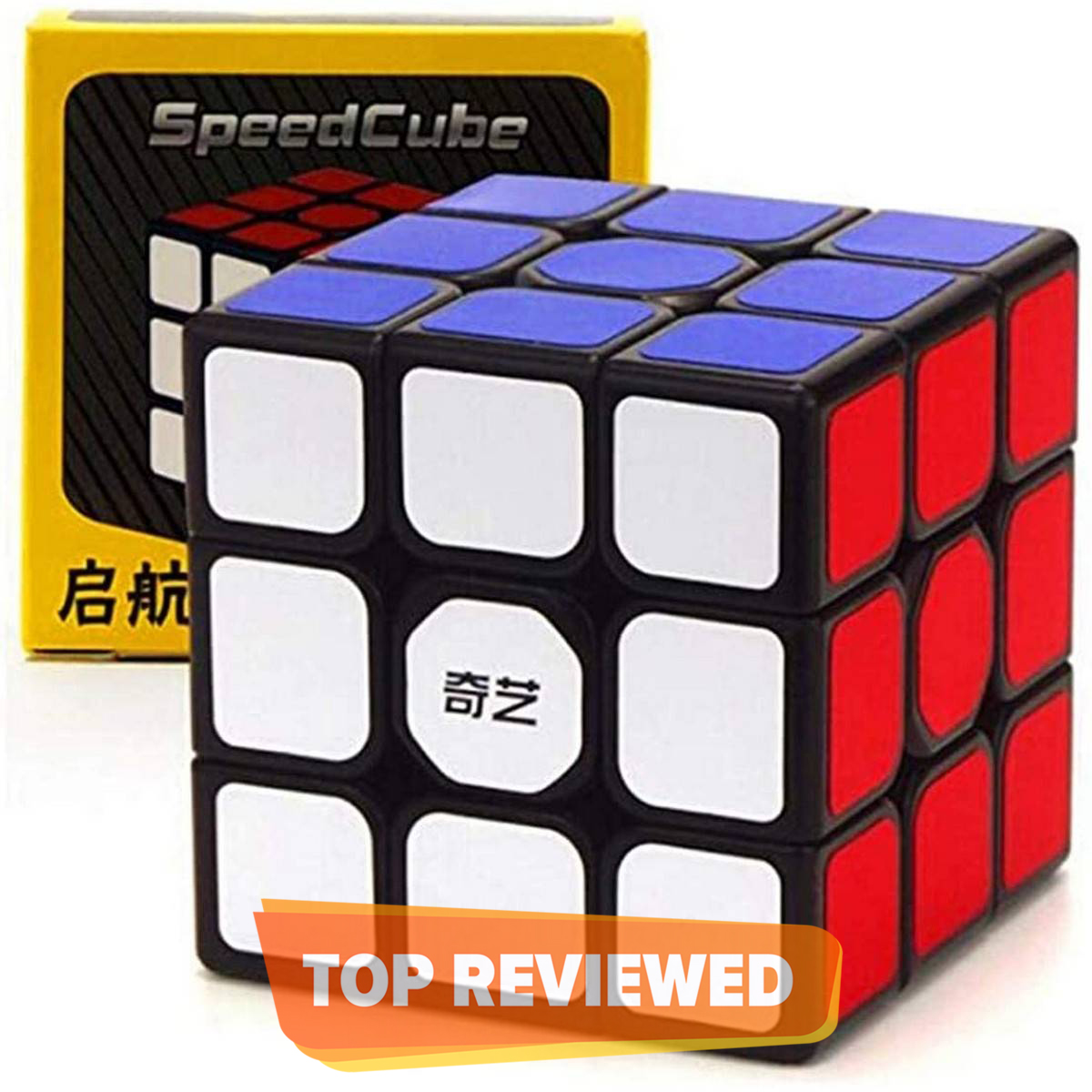 QiYi Sail W Rubiks Cube 3x3 Sticker Best Quality Fast Magic Speed Cube Smooth Educational Puzzle Toys