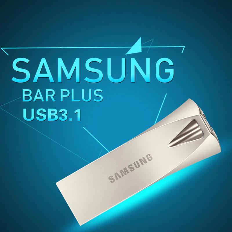 Samsung 16/32/64 GB BAR Metal High Speed 3.0 Flash Memory Stick USB Drive  - 6 Months WARRANTY