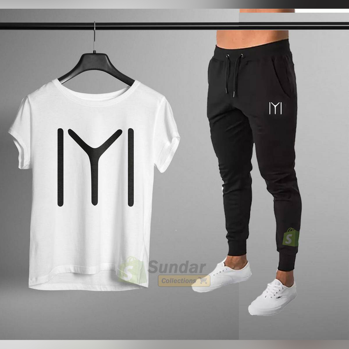 Kayi Men stylish T shirt and trouser.Two Pieces.