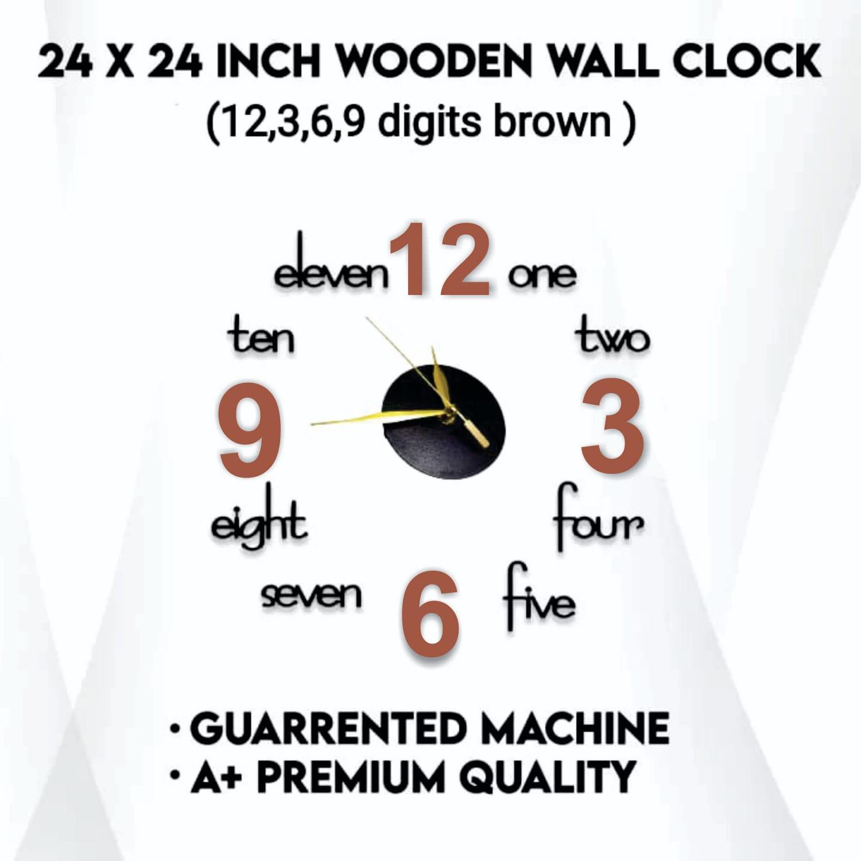 Stylish Design Wooden Wall Clock Beautifull Gift  3D Laser Cut Wooden Wall Clocks For Bedroom Modern Diy Wall Clocks For Home & Office Decor
