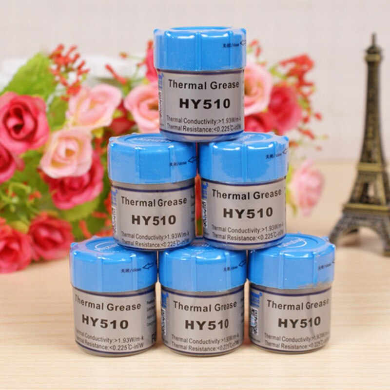 HY510 Thermal grease silicone thermal paste for CPU heat sink