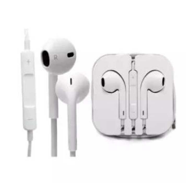 Apple iPhone Earphones - White Color - Handsfree