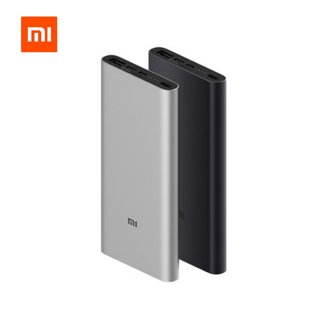 2020 New Xiaomi Mi Power Bank 3 10000 mAh External Battery portable charginQuick Charge 10000mAh Powerbank Supports 18W Charging