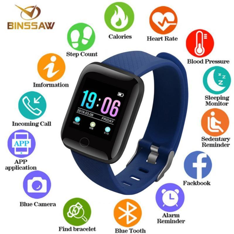 3ad5c107a New Fitness D13 Smart Watch, Heart Rate Moniter Watch, Smart Fitness Watch,  Mobile