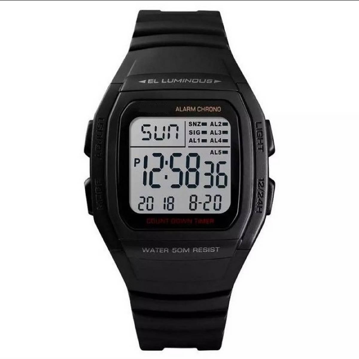 Digital Wrist watch water Resistant