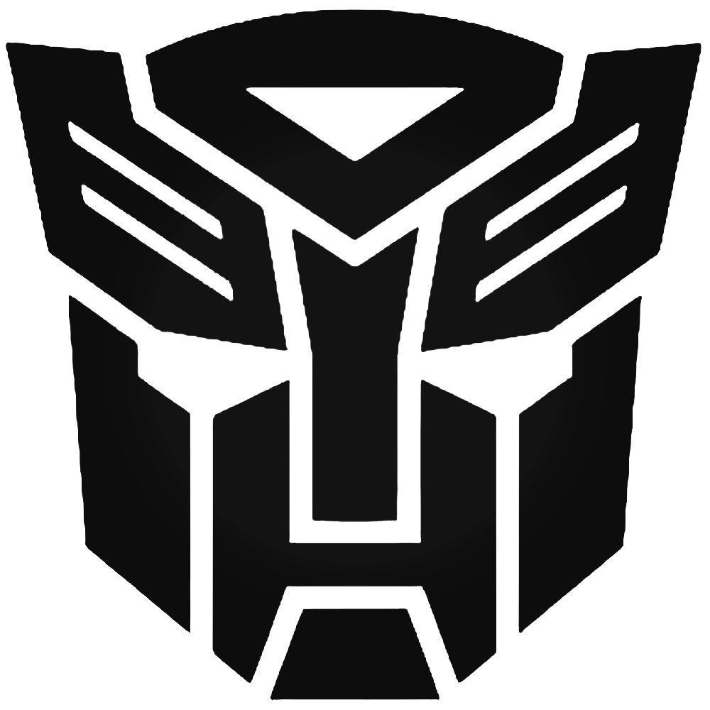 Transformers autobots vinyl decal sticker 8 inch