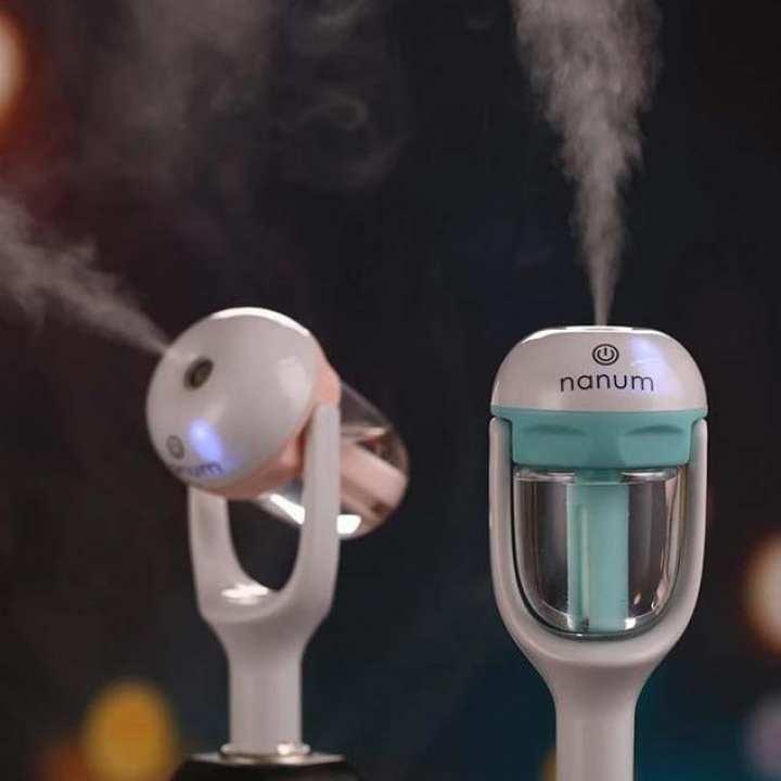 50ML Car Humidifier Diffuser touch control Mini Freshener Air Purifier Essential Oil Portable Auto Cool Mist Maker Fogger 12V