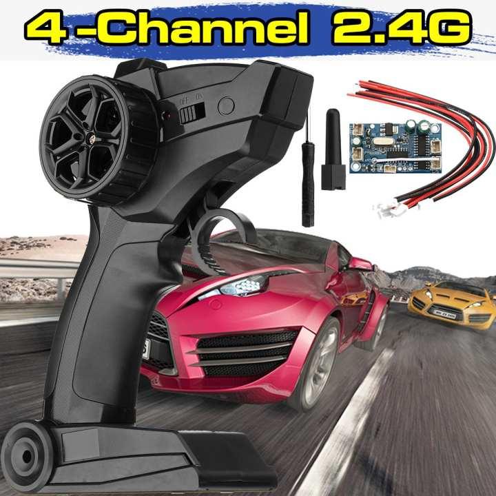 2.4GHz 3CH Digital Radio Remote Control Transmitter Receiver for Car Boat Beamy