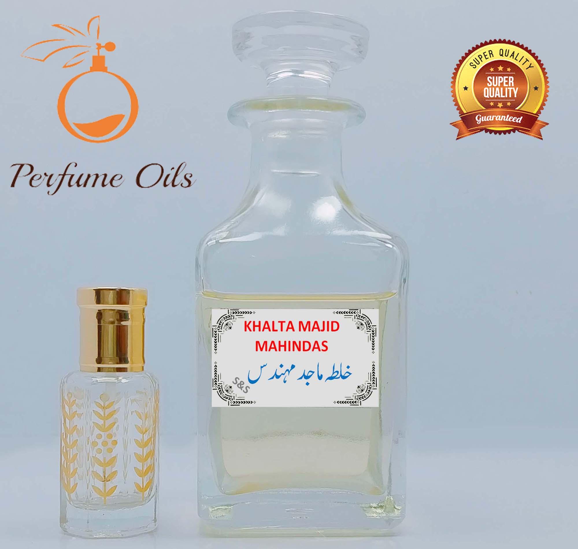 KHALTA MAJID MAHINDAS (S&S) Special Perfume Oil  Attar / Ittar   Best Projection   Long Lasting High Quality Original Fragrance by Perfume Oils Store