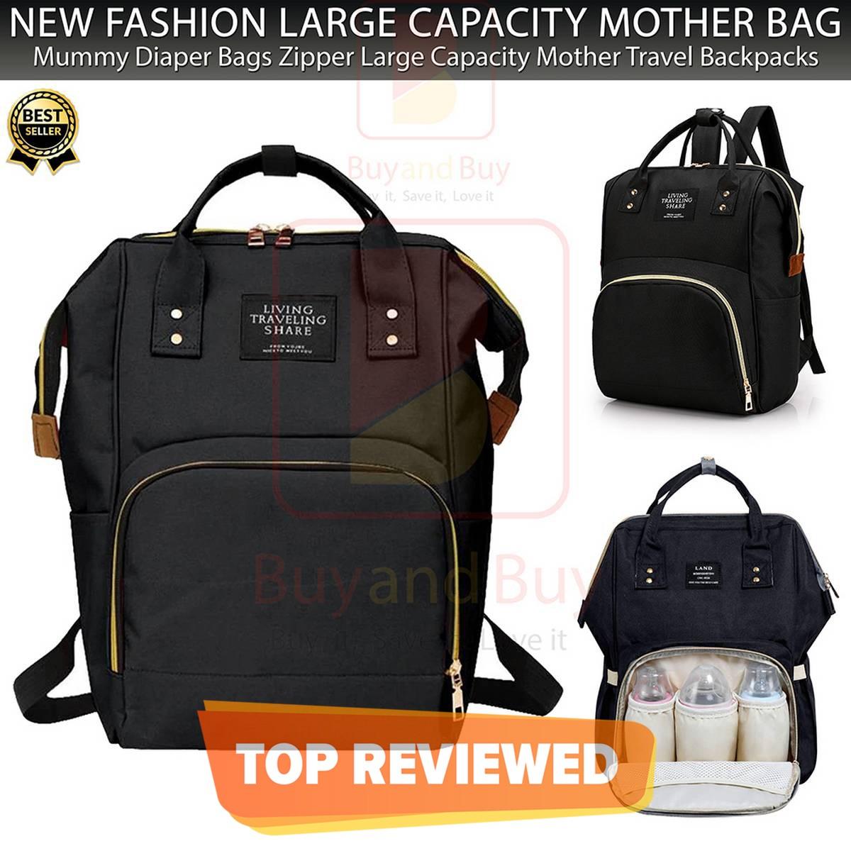 Diaper Mummy Bag Multi-Function Waterproof - Travel Backpack