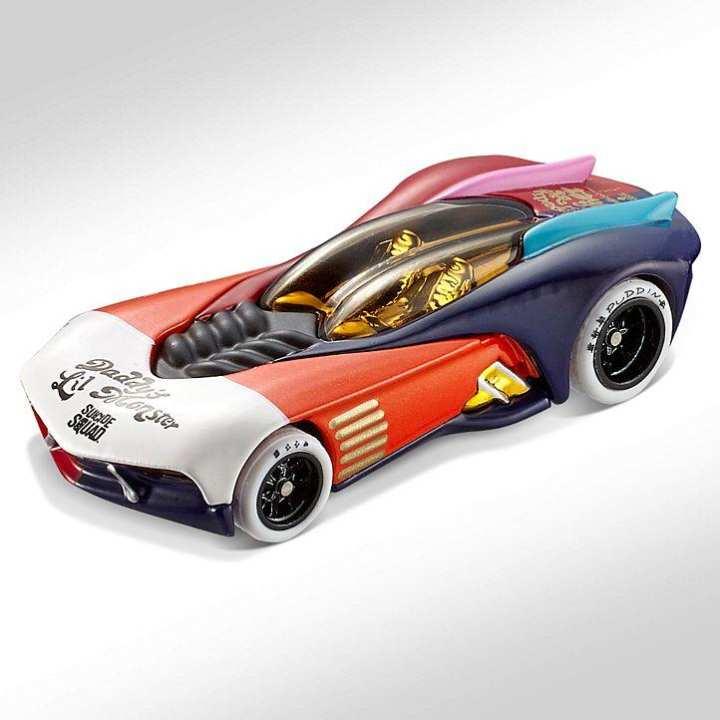 Hot Wheel Metal Racing Toy Car Hot Wheels Suicide Squad Harley Quinn Character Car Set