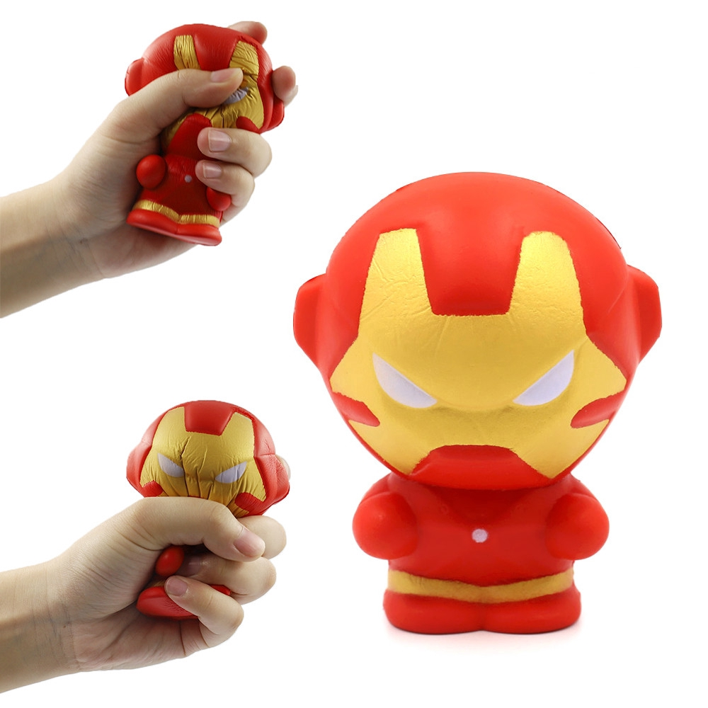 Iron Man Squeeze Soft Slow Rising Squishy Toy For Kids