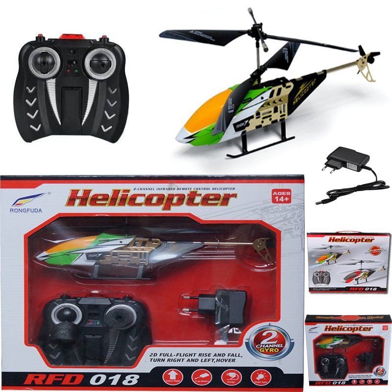New And High Quality Remote Control  2- Channel Gyro |left to Right And Up And Down| Infrared Remote Control (RC), Rechargeable Flying Helicopter Toys For Kids'