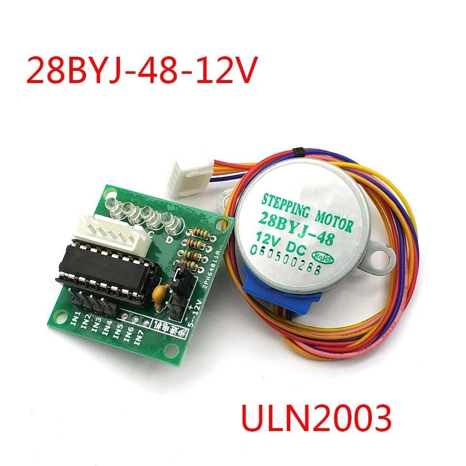 28BYJ-48 5V 4 Phase DC Gear Stepper Motor + ULN2003 Driver Board for  arduino DIY