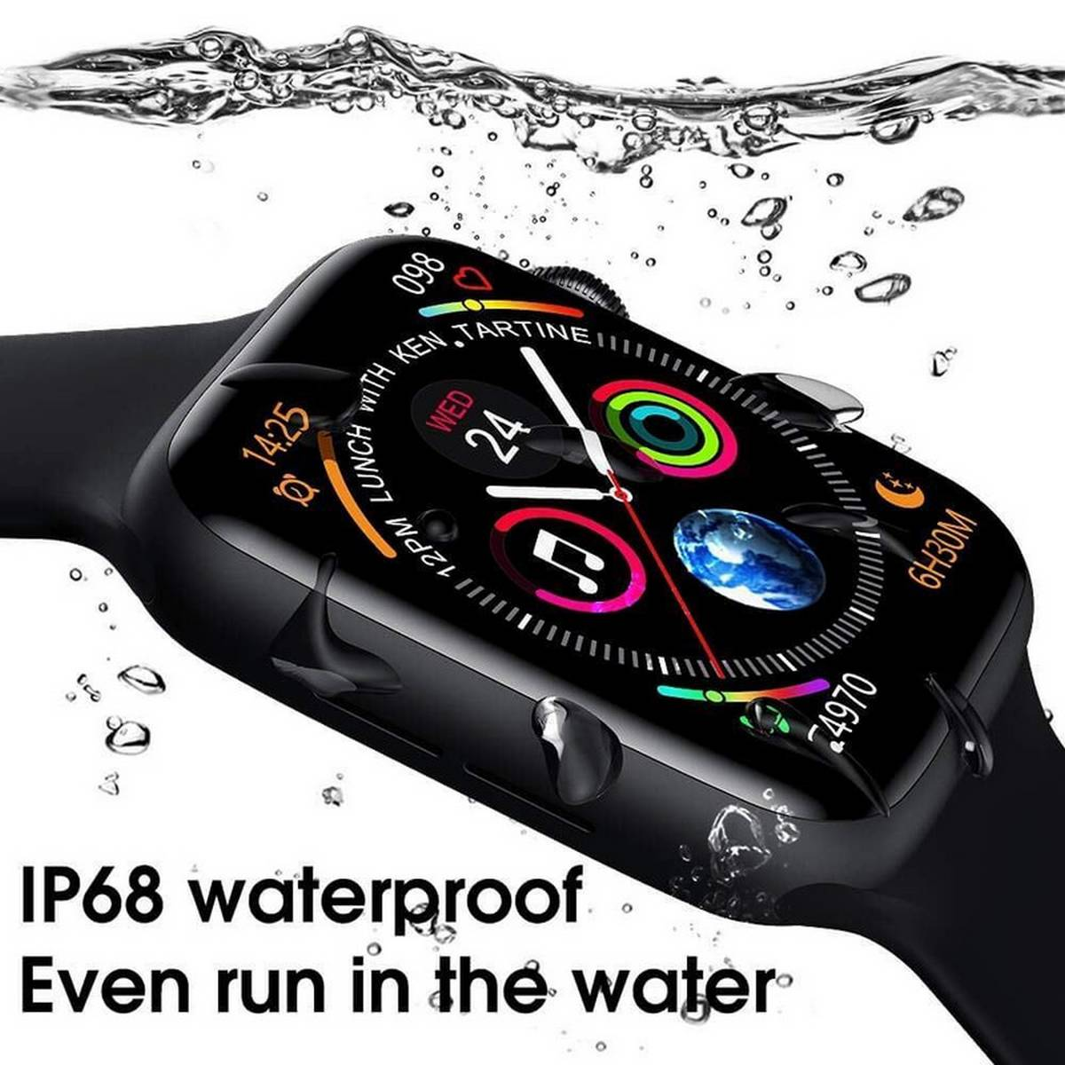 Advanced Version T-500 Fitness Bluetooth Smart Watch Digital Wrist Sports Watch For iPhone Android Samsung Nokia Hauwei and Mi Phones