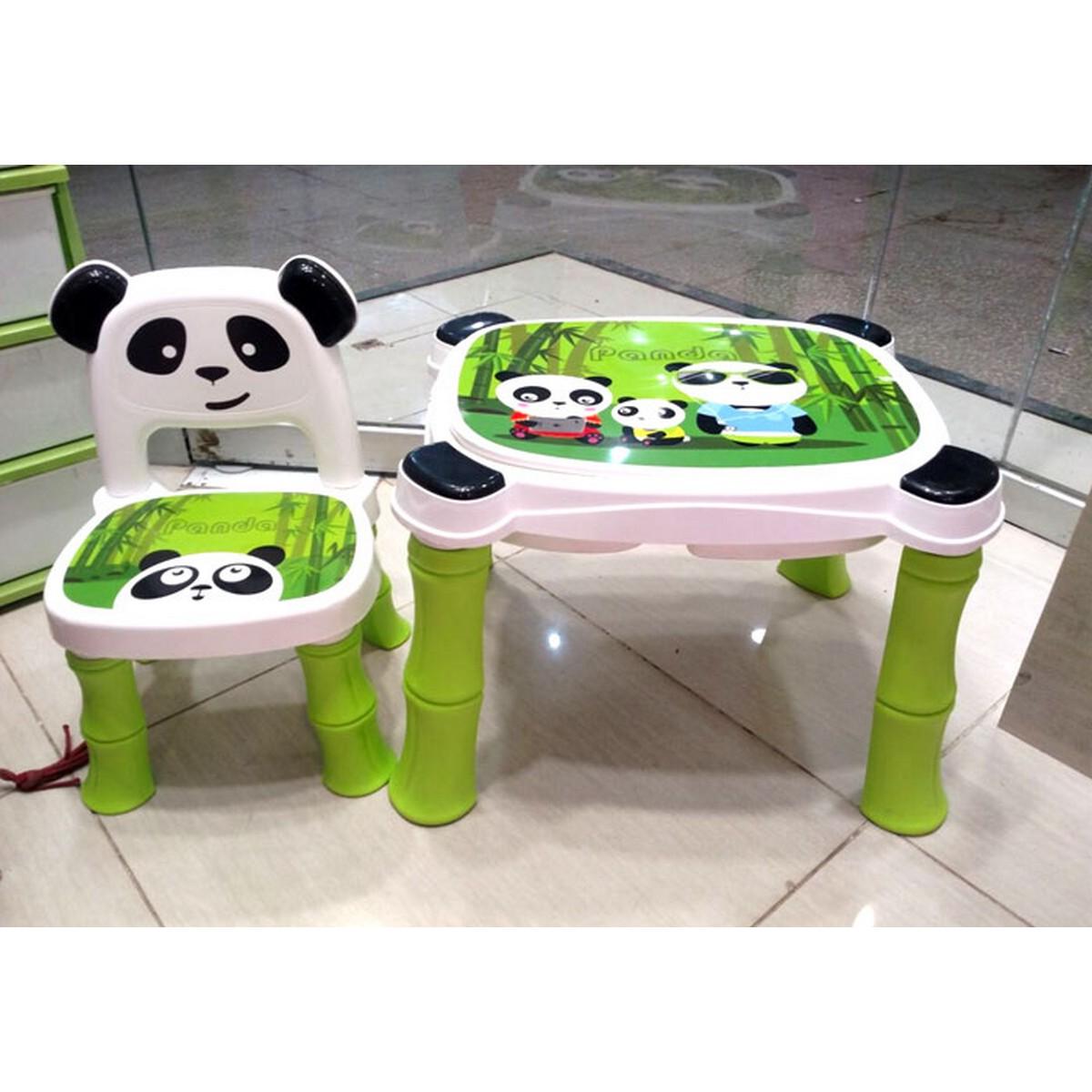 Panda Table chair for Kids High Quality Fiber Plastic